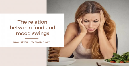 The relation between food and mood swings